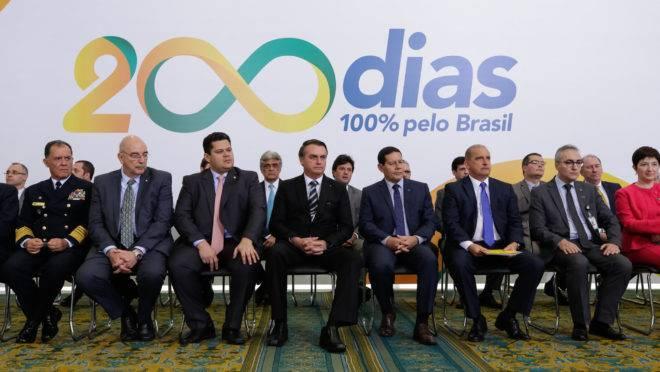 Solenidade Alusiva aos 200 Dias de Governo. Foto: Isac Nóbrega/PR