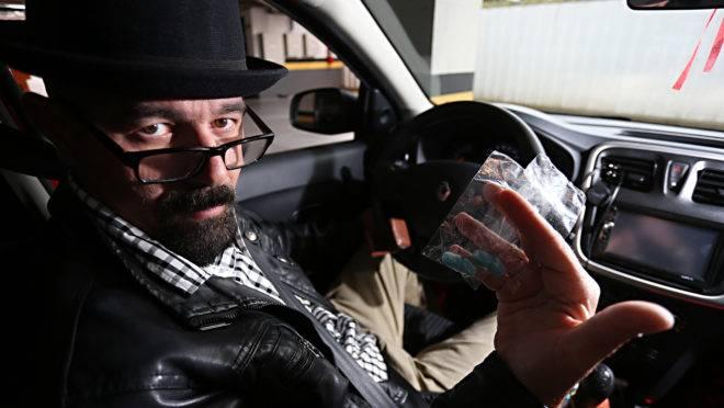 Marlon Casagrande, motorista de Uber faz corridas vestido de Walter White em Curitiba