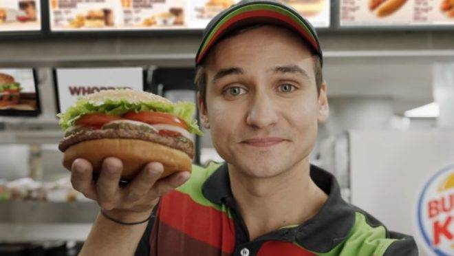 Foto: Burger King/Reprodução