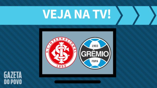 Internacional x Grêmio: veja na TV