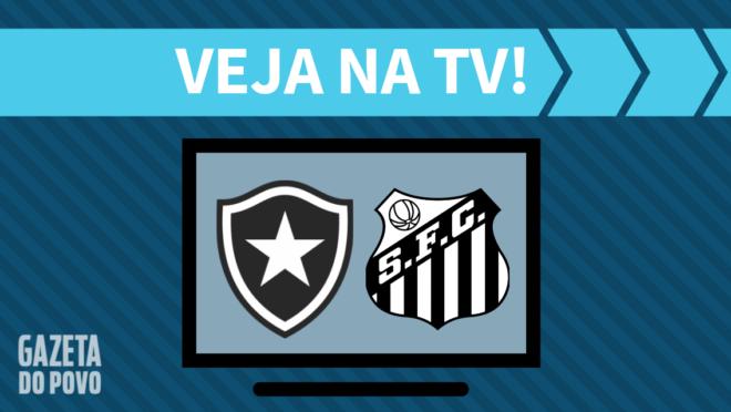 Botafogo x Santos: veja na TV