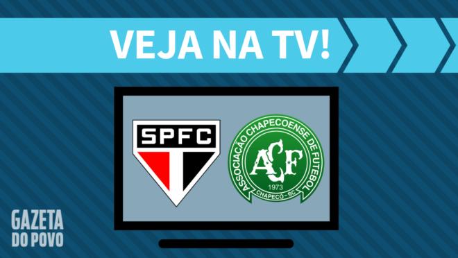 São Paulo x Chapecoense: veja na TV