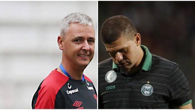 Coritiba deixa Louzer no aviso prévio e Athletico é visto com outros olhos pela mídia