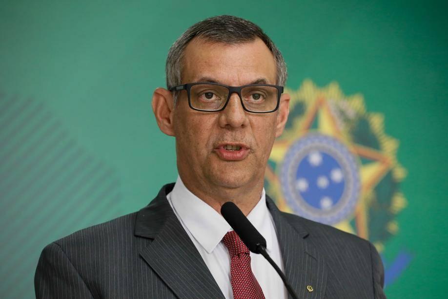 O general Otávio do Rêgo Barros, porta-voz da Presidência da República.
