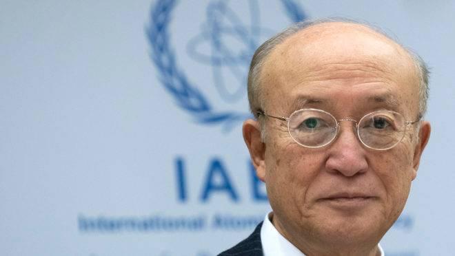 Chefe da Agência Internacional de Energia Atômica (AIEA), Yukiya Amano