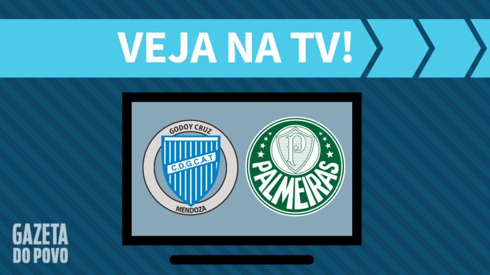 Godoy Cruz x Palmeiras AO VIVO: saiba como assistir ao jogo na TV