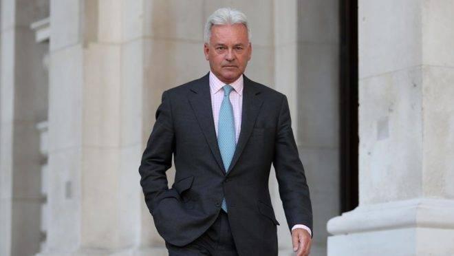 Alan Duncan, em foto de 13 de setembro de 2018, quando era ministro das Relações Exteriores do Reino Unido