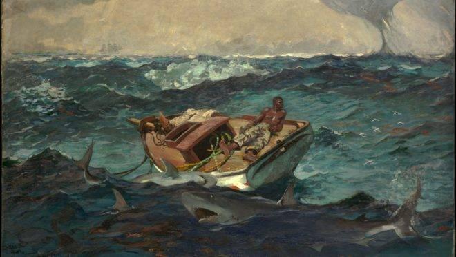 """""""The Gulf Stream"""", de Winslow Homer."""