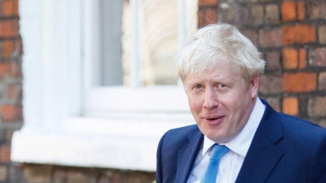 O novo líder do Partido Conservador Boris Johnson
