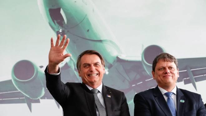 (Vitória da Conquista - BA, 23/07/2019) Presidente da República, Jair Bolsonaro durante Cerimônia de Inauguração do aeroporto Glauber Rocha.rFoto: Alan Santos/PR