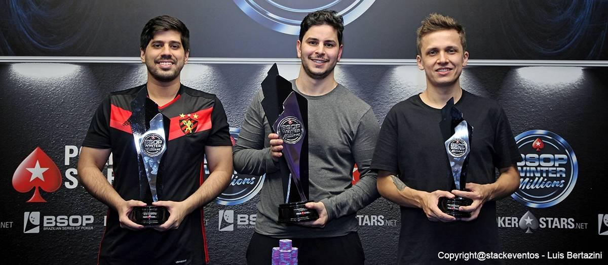 Douglas Lopes e Thales Koppe completaram os três primeiros colocados.