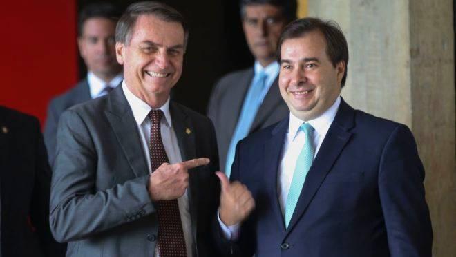 Emendas parlamentares: Bolsonaro e Maia