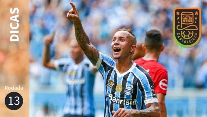 Dicas da 13ª rodada do Cartola FC 2019