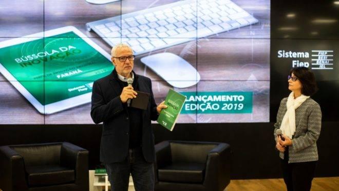 Presidente da Fiep, Edson Campagnolo apresenta os resultados da Bússola da Inovação 2019