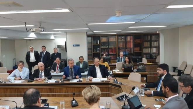 Reunião do Conselho Nacional de Secretários de Fazenda (Consefaz), que reúne os 27 secretários estaduais da Fazenda.