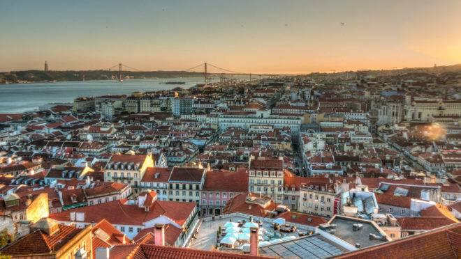 Lisboa, em Portugal | Wikimedia Commons/Reprodução