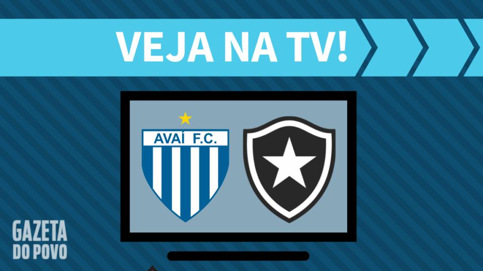 Avaí x Botafogo AO VIVO: saiba como assistir ao jogo na TV
