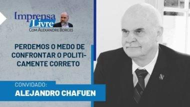 Economista Alejandro Chafuen é entrevistado por Alexandre Borges no Imprensa Livre