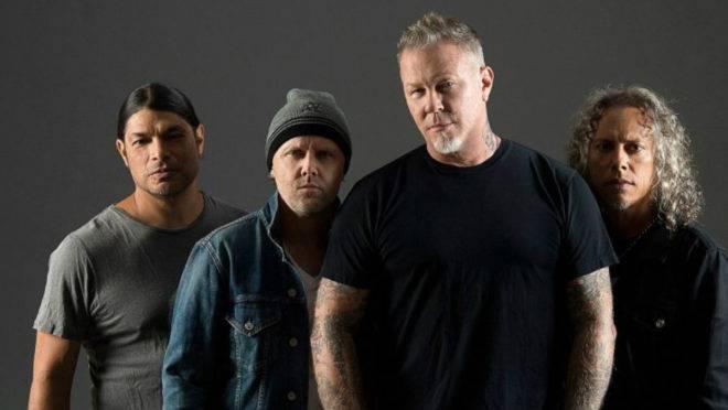 Banda Metallica.
