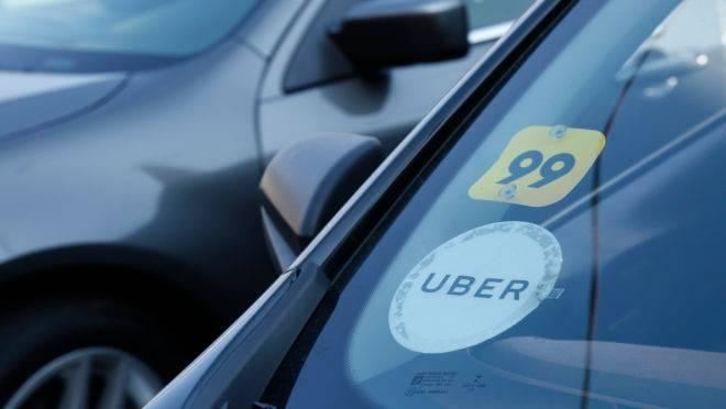 Aplicativos Uber e 99