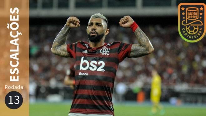 Confira escalações, suspensos e lesionados da 13ª rodada do Brasileirão