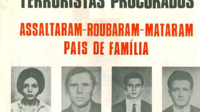 Cartaz com dissidentes políticos