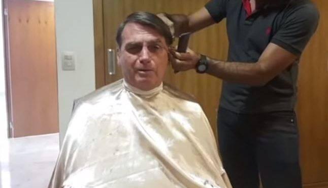 Presidente Bolsonaro preferiu cortar cabelo a se reunir com ministro francês.