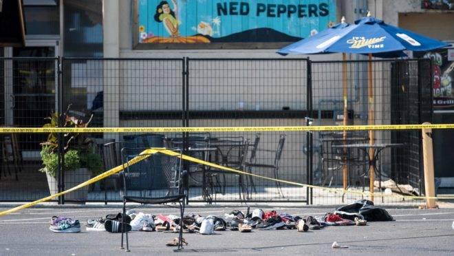 Local onde ocorreu ataque que deixou dez mortos em Dayton, Ohio.