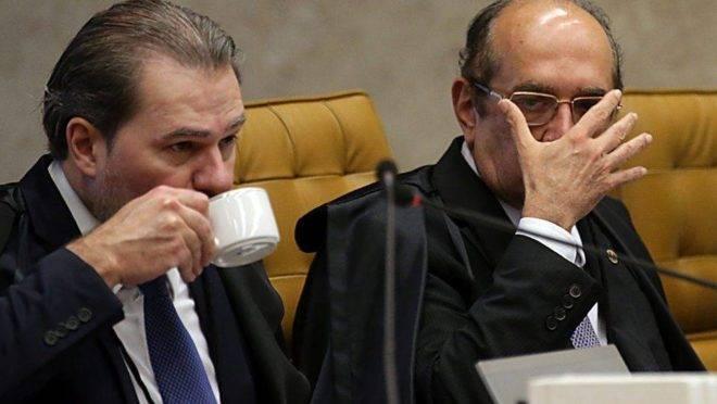 Dias Toffoli e Gilmar Mendes estão entre os ministros que votaram pelo fim da prisão após condenação em segunda instância.