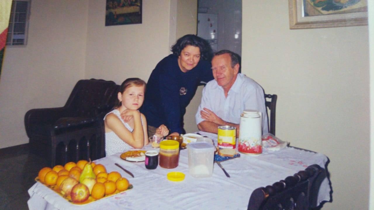Além do idioma, a comida era outra barreira entre as famílias brasileiras e as crianças ucranianas