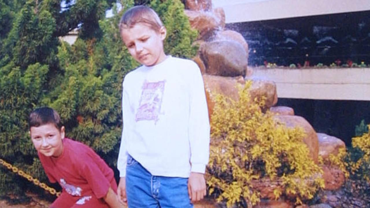 Dmitriy e Maxin foram dois dos garotos ucranianos que vieram a Curitiba