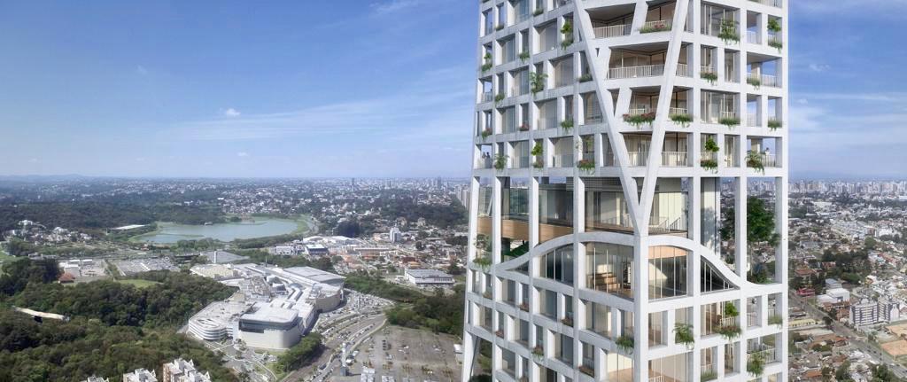 O residencial de luxo <em>AGE360</em> tem projeto de arquitetura assinado pelo conceituado escritório <strong>Triptyque Architecture</strong> e terá 40 andares.