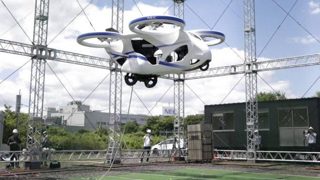 Carro voador da NEC Corp