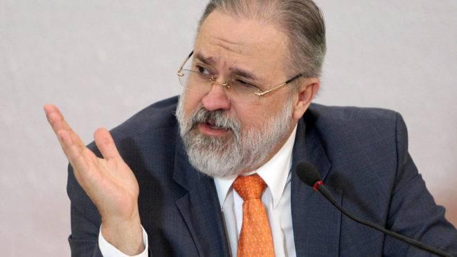 Dr. Augusto Aras durante Seminário Poder Judiciário e Eleições. Brasília-DF, 05/12/2017 Foto: Roberto Jayme/Ascom/TSE
