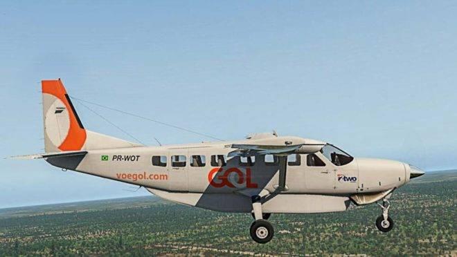 Rotas regionais serão feitas com aeronaves Cessna Grand Caravan, operadas pela Gol.