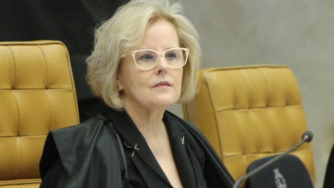 A ministra do STF, Rosa Weber.