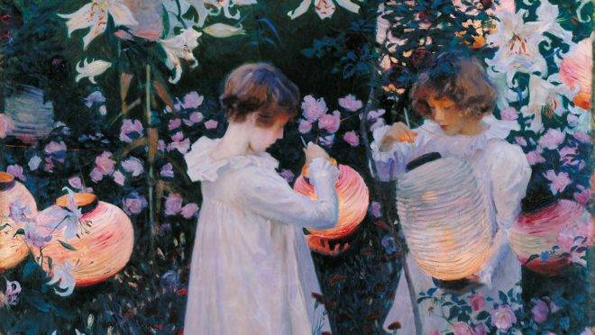 """""""Carnation, Lily, Lily, Rose"""", de John Singer Sargent."""
