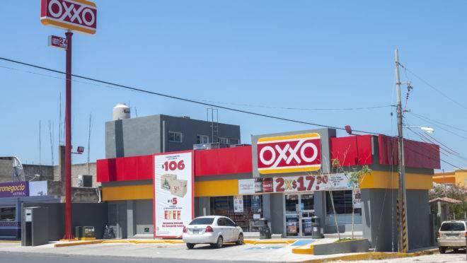 Loja da Oxxo em Las Choapas, no México.