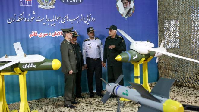 Ministro da Defesa do Irã apresenta novas bombas