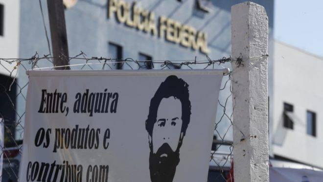 Sede da Polícia Federal transferência Lula