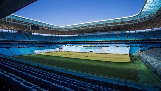 Jogo contra o Athletico, pelo primeiro turno do Brasileirão, será na Arena do Grêmio