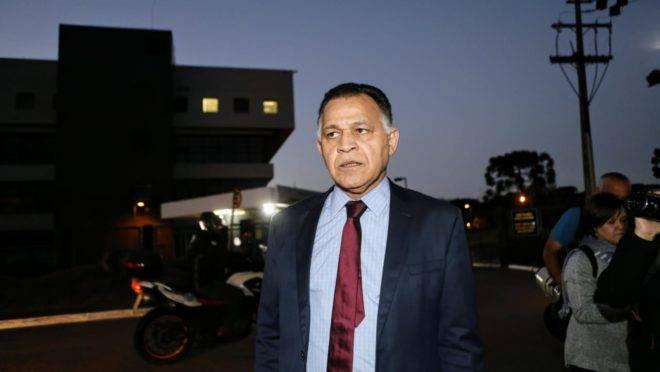 O advogado de Lula Manoel Caetano