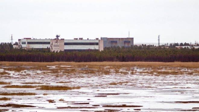 Foto de novembro de 2011 mostra a unidade militar na pequena cidade de Nyonoska na região de Arkhangelsk