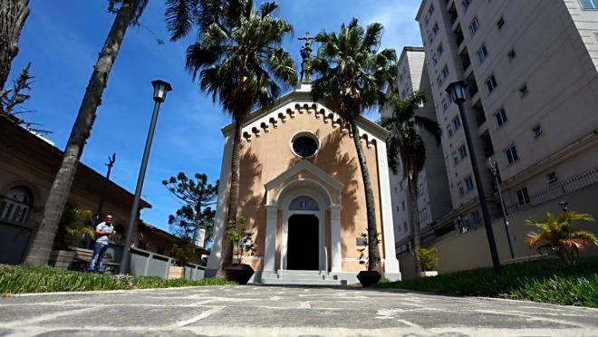 A Capela da Glória era usada pelas famílias tradicionais do ciclo da erva mate.