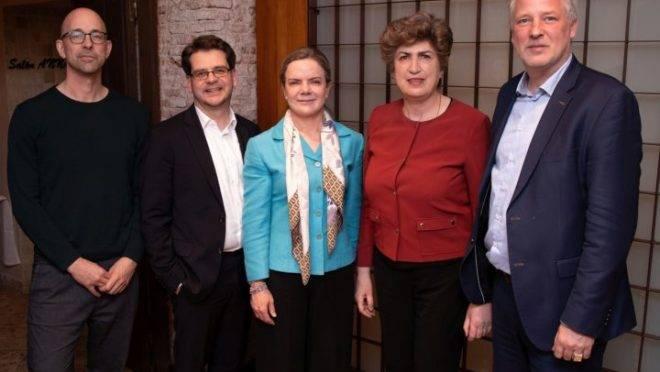 Encontro da Aliança Progressista em Madri