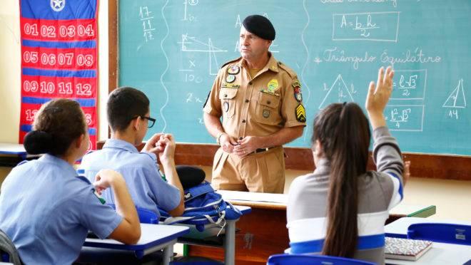 Inscrição colégio pm curitiba 2020
