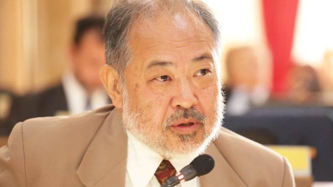 O vereador Professor Matsuda (PDT)