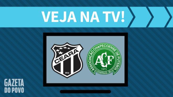 Ceará x Chapecoense: veja na TV