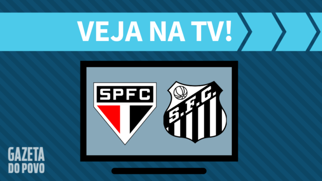 São Paulo x Santos: veja na TV