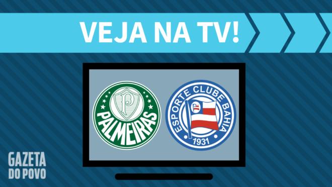 Palmeiras x Bahia: veja na TV